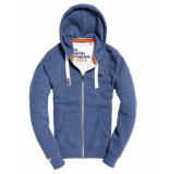 Superdry Orange label ziphood blauw