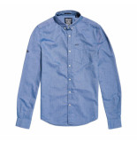 Superdry Ultimate oxford l/s shirt blauw