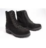 Gabor 92.788.7 boots plat zwart