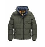 PME Legend Pja196117 8039 hooded jacket snowburst 2.0 beluga groen