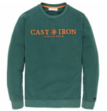Cast Iron Csw196000 6431 r-neck carbon fleece sea moss groen