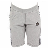 Philipp Plein Statement jogging short grijs