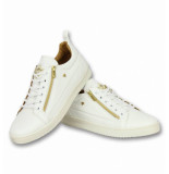 Cash Money Schoenen sneaker bee white gold