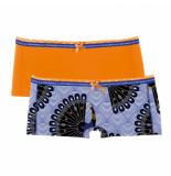Muchachomalo Girls 2-pack short proud as peacock