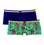 Muchachomalo Girls 2-pack short tiger