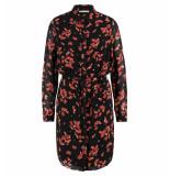 Freebird Korte jurk amina flower zwart