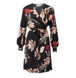 YAYA Korte jurk 1801139-921 zwart