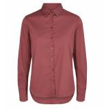 Mos Mosh Lange mouw blouse 129000 martina shirt rood