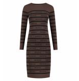 Nikkie Korte jurk n7-557 1905 jolie dress bruin