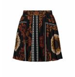 Nikkie Korte rok n3-544 1905 sahara skirt zwart