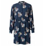 YAYA Korte jurk 1801130-922 blauw