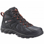Columbia Wandelschoen men peakfreak xcrsn ii mid leather outdry black supersonic zwart