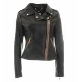 Rino & Pelle Leren jas lora 750s19 zwart