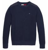 Tommy Hilfiger Gebreide trui kb0kb05292 blauw