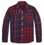Tommy Hilfiger Lange mouw blouse kb0kb05296 rood