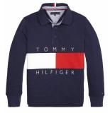 Tommy Hilfiger Polo's kb0kb05121 blauw