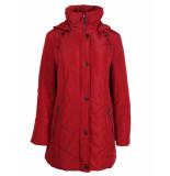 Lebek Coat 30580019 rood