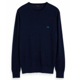 Scotch & Soda Pullover 152863 blauw