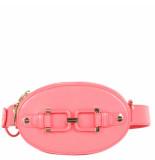Elisabetta Franchi Moves Women's belt beg roze