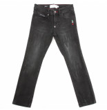 Philipp Plein Slim fit statement zwart