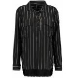 10 Days Shirt 20 405 8103 charcoal zwart