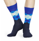 Happy Socks Faded diamond fad01-6300-41 blauw