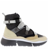 Chloe Sneakers sonnie high grijs blauw