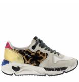 Golden Goose Deluxe Brand Golden goose sneakers running sole g35ws963 dierenprint