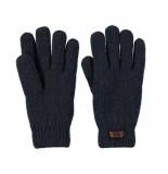 Barts Handschoen haakon navy blauw