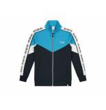 Nik & Nik Trainingsjacket almo donker blauw