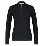 Aaiko Shirt zere vis zwart