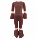 Reinders Daisy flair pants lurex rood