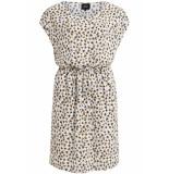 Object Objbay dallas s/s dress aop season 23029254 gardenia wit