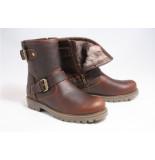 Panama Jack Felia igloo b20 boots plat bruin