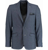 Born with Appetite Appetite jade jacket slim fit 183038ja98/240 blue blauw