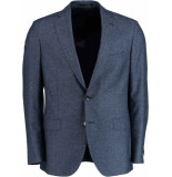 Bos Bright Blue Blue milano modern fit colbert 436.1/100 blauw
