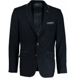 Born with Appetite Appetite granite jacket modern fit 191037gr35/290 navy blauw