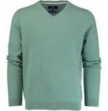 Basefield V-hals pullover 219013879/502 groen
