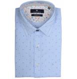 Basefield Mouw overhemd 219014009/610 licht blauw