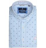 Basefield Mouw overhemd 219013943/610 licht blauw