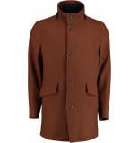 Bos Bright Blue Blue max coat 19301ma02bo/855 caramel bruin