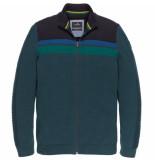 Vanguard Jacket cotton mouline vkc196160/5281 blauw