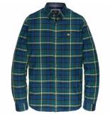 Vanguard Sleeve shirt check vsi196430/6078 groen