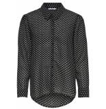 Only T-shirts tops 129132 zwart