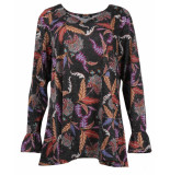 Twister T-shirt 10233 zwart