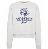 Tommy Hilfiger Sweatshirt dw0dw07120ppp grijs