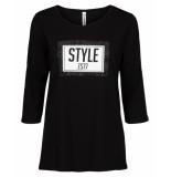Zoso T-shirt 194saks zwart