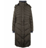 HV Polo Coat 0406103132 maddy groen