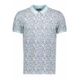 Only & Sons Onstrey pique ss polo 22015168 blue ice blauw