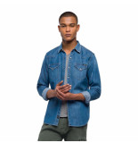 Replay Overhemden 126533 denim